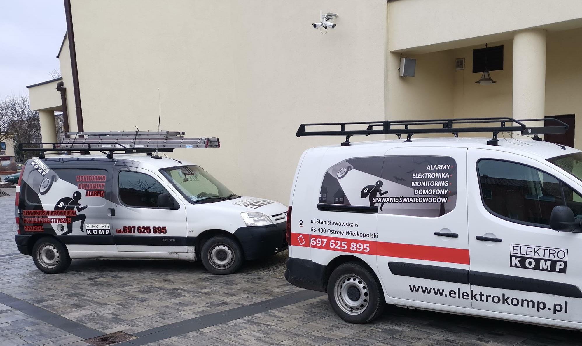 Alarmy, monitoring, CCTV, naprawa domofonów, elektryka, instalacje niskoprądowe.